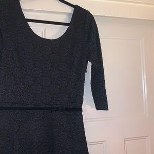 NWT WHBM Black Lace Dress